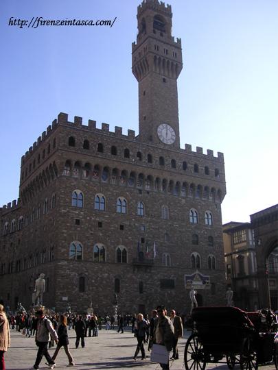 フィレンツェ、ヴェッキオ宮殿