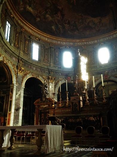 フィレンツェ、サンティッシマ・アンヌンツィアータ教会、祭壇