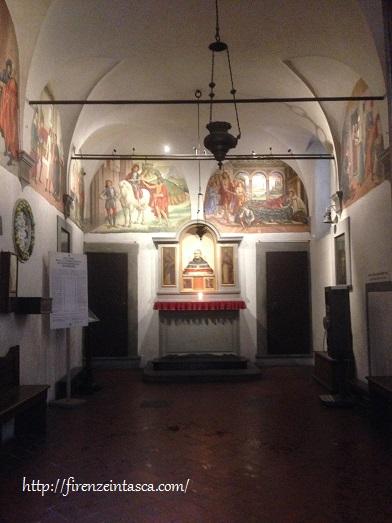 フィレンツェ、サン・マルティーノ小礼拝堂