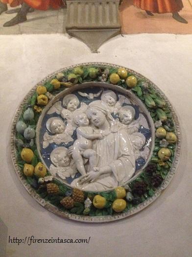 フィレンツェ、サン・マルティーノ小礼拝堂、メダイヨン