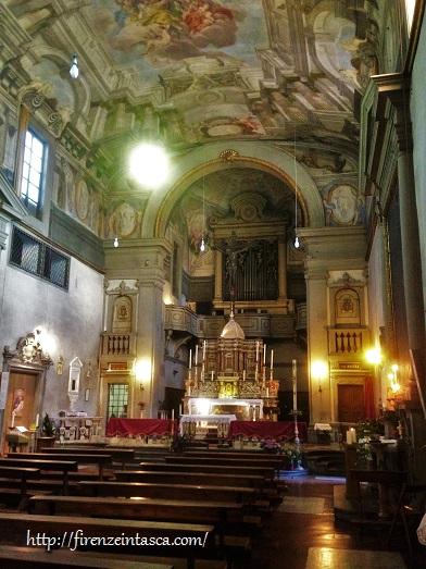 フィレンツェ、サンタ・マリア・ヌオーヴァ病院の教会