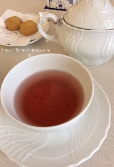 サンタ・マリア・ノヴェッラ薬局の紅茶