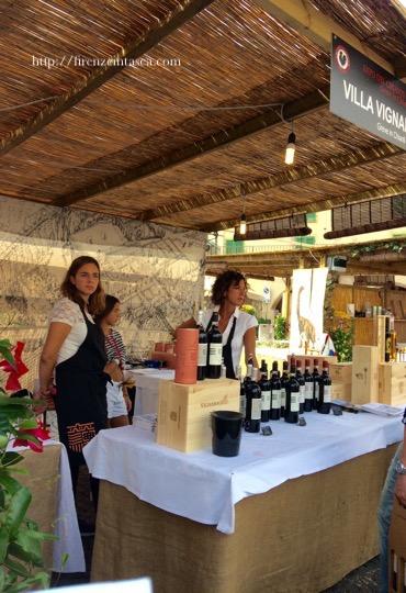グレーヴェインキャンティのワイン祭り