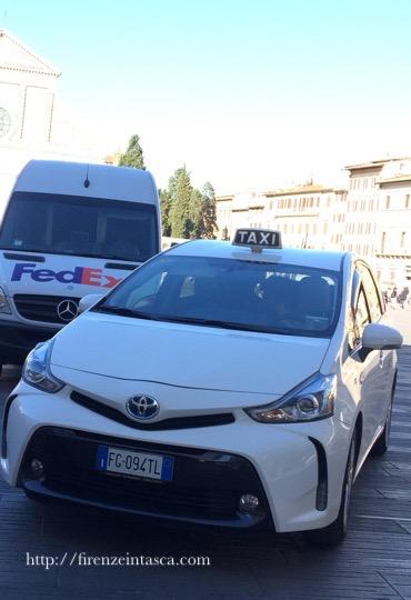 フィレンツェのタクシー