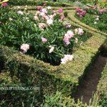 フィレンツェの庭園での工芸展