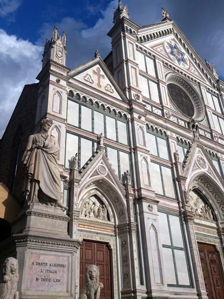 フィレンツェのサンタクローチェ教会