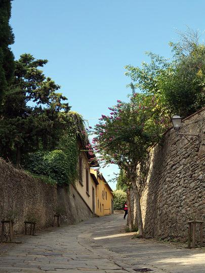フィレンツェからフィエーゾレへ