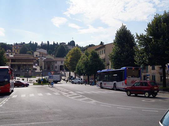 フィエーゾレのミーノ広場