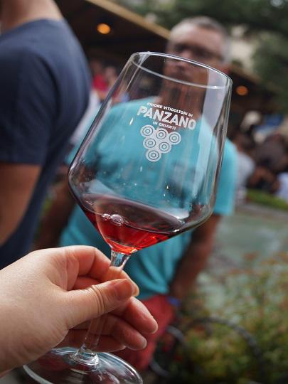 パンツァーノのワイン祭り