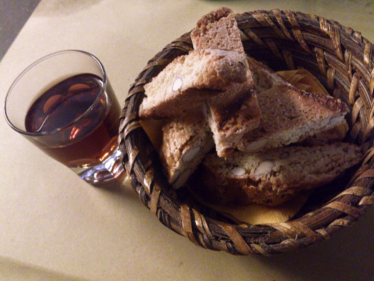 フィレンツェのお菓子、カントゥッチ