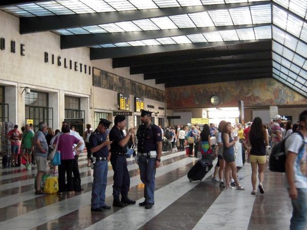 フィレンツェ、サンタマリアノヴェッラ駅