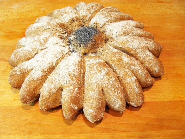 ユニークな形のパン
