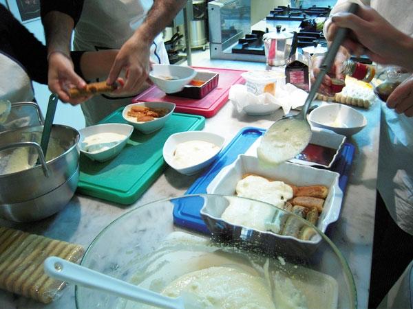 デザート作り