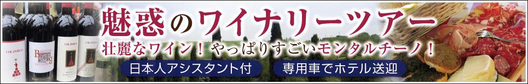 とことんブルネッロを味わうモンタルチーノ1日ワイナリーツアー!