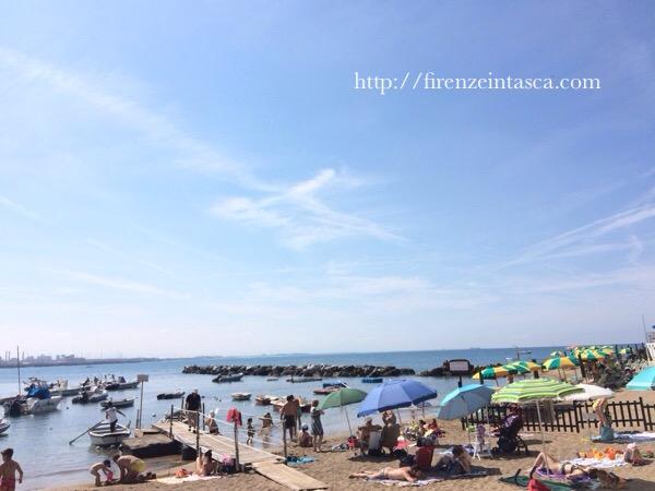 カスティリオンチェッロの海