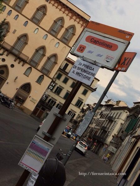 フィレンツェのバス