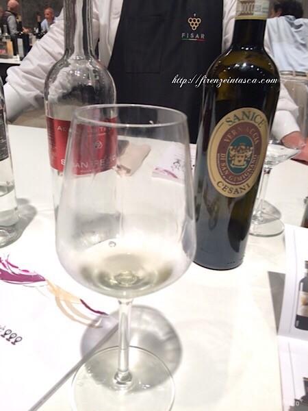 白ワイン試飲
