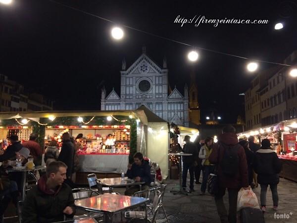 サンタクローチェのクリスマスマーケット