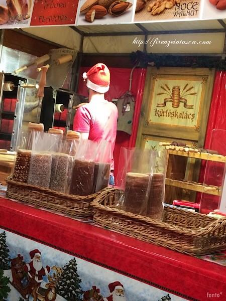 クリスマスマーケットのお菓子