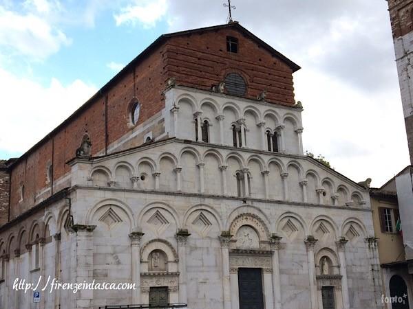 ルッカのサンタマリアフォリスポルタム教会
