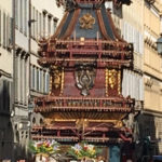 フィレンツェ復活祭の山車