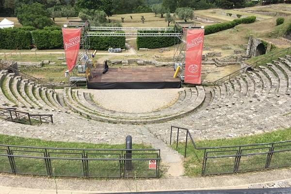 フィエゾレの野外劇場