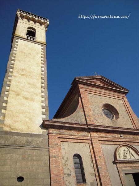ヴィンチ村サンタクローチェ教会