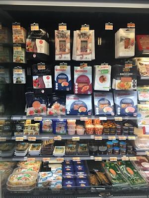 フィレンツェのスーパーマーケット
