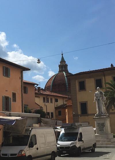 フィレンツェのドゥオーモに似たクーポラ