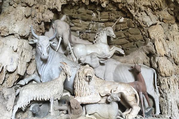 カステッロの人工洞窟