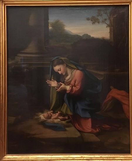 コレッジョのキリストの誕生