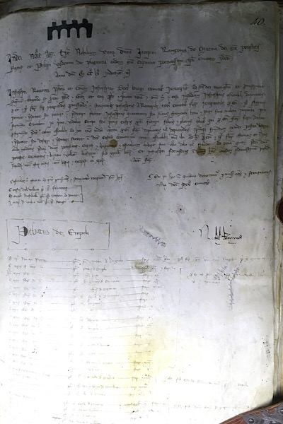 古文書資料館の本の展示