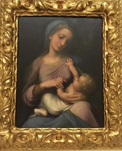 コレッジョの聖母子