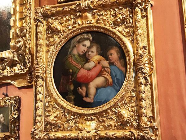ラファエロ、小椅子の聖母