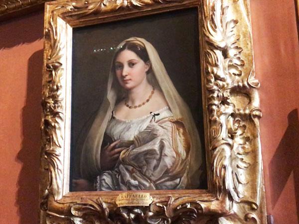 ラファエロ、ヴェールの女