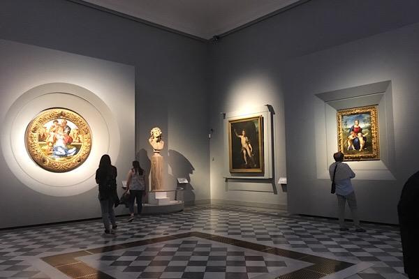 ウフィッツィ美術館ミケランジェロとラファエロ