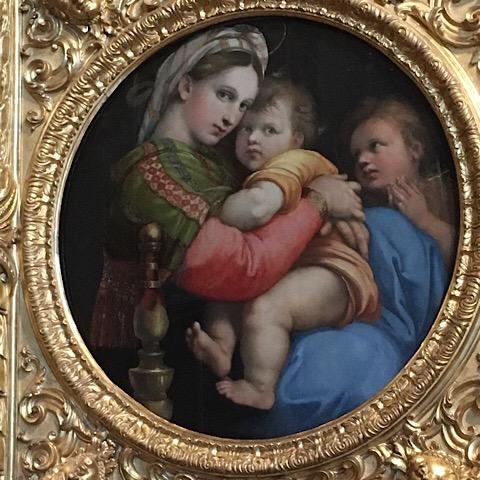 ピッティ宮殿椅子の聖母