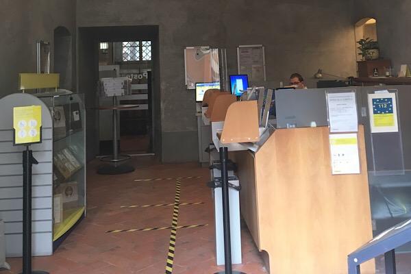 ウフィツィ美術館の郵便局