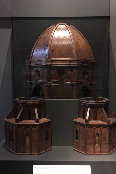 フィレンツェクーポラの模型