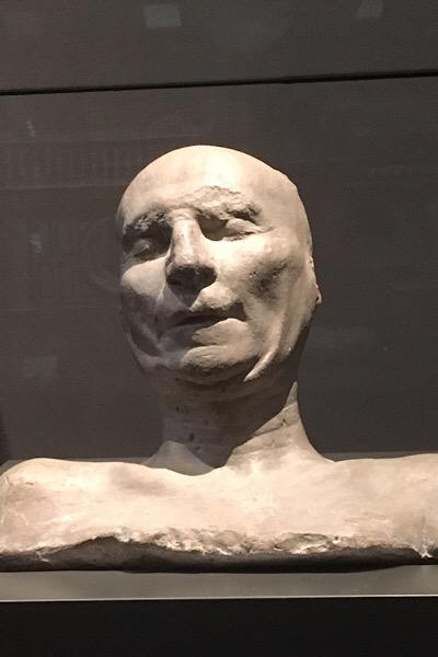 ブルネレスキのデスマスク