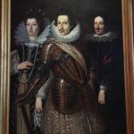 コジモ2世(中央)の肖像画
