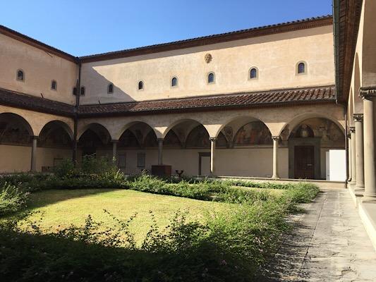 サンマルコの中庭