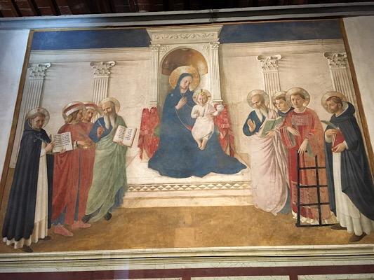 サンマルコフレスコ画