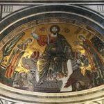 サンミニアートアルモンテ教会のモザイク