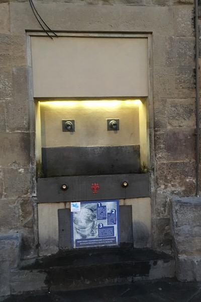 フィレンツェの飲料水スポット
