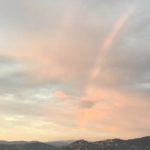フィレンツェで虹