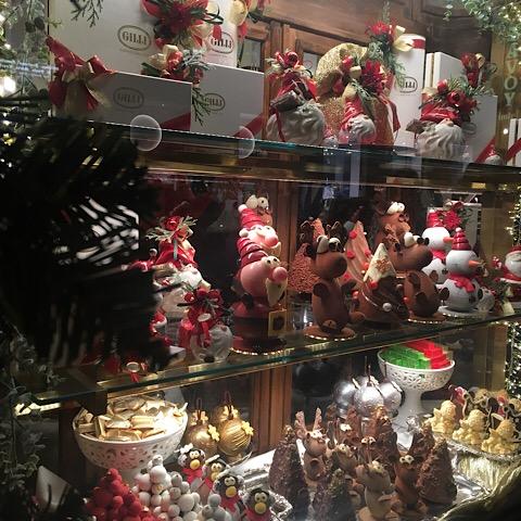 バールのクリスマスお菓子