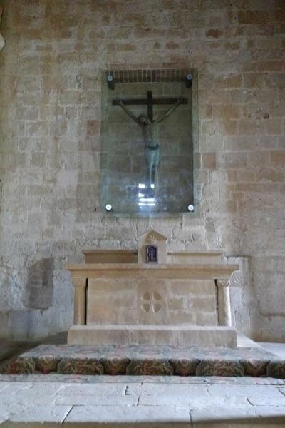 祭壇と磔刑