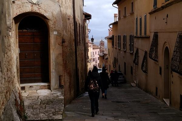 モンテプルチャーノの市街地