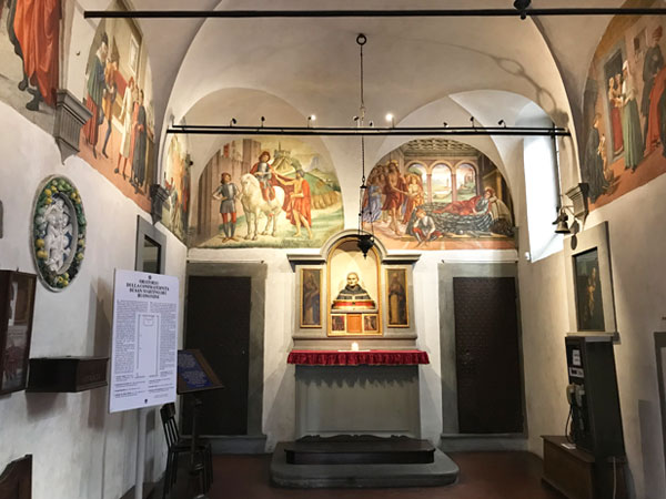 サン・マルティーノ礼拝堂内部
